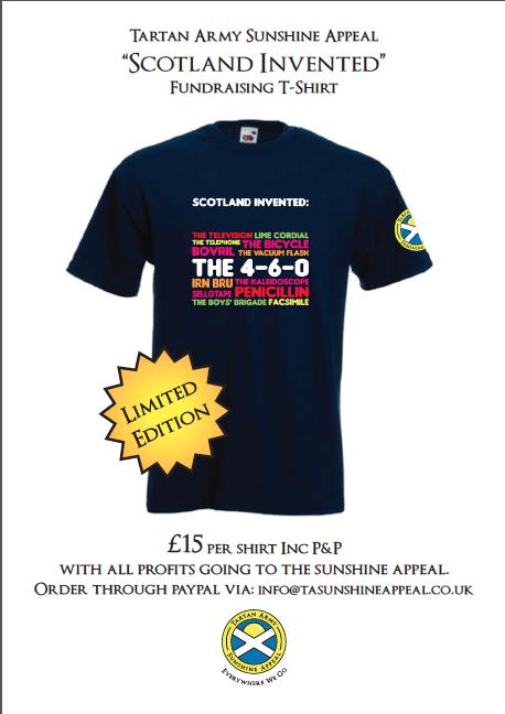 """Scotland Invented"" T-shirt"
