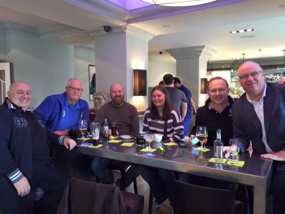 Rafael-Lorraine and Sunshine Appeal meet in Edinburgh in March 2016